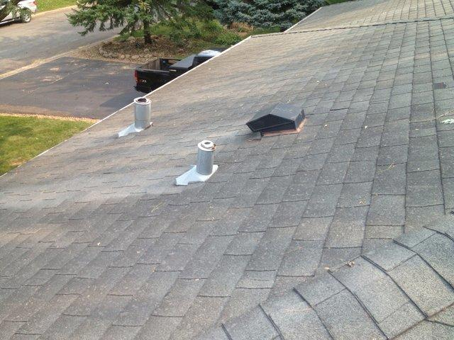 Eagan, MN Roofing Contractor | Trinity Exteriors - Before Photo