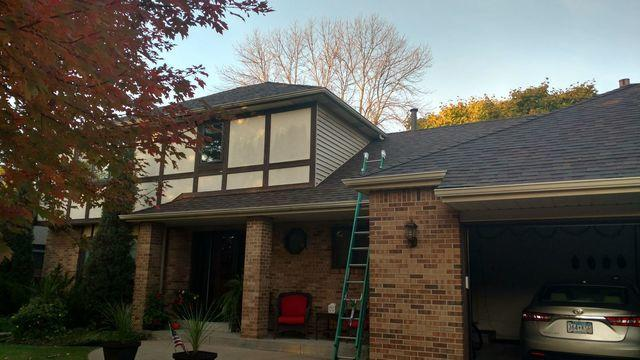 Hail Damaged Roof in Mendota Heights, MN