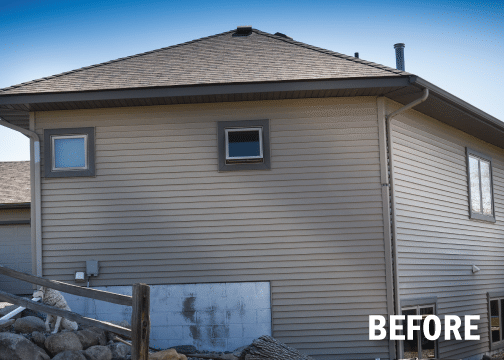 Complete Make-over with Boral Versetta Stone Installation in Prior Lake, MN