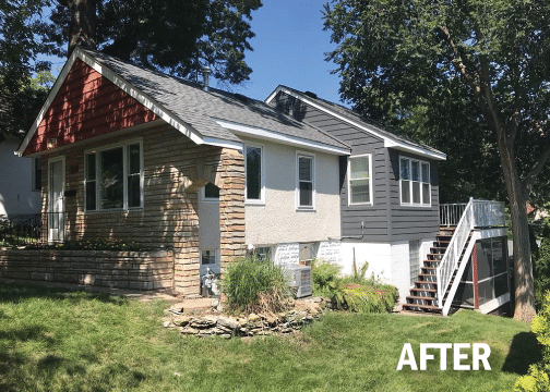Pre-Finished LP SmartSide Siding & Trim in a Classic Minneapolis Home!