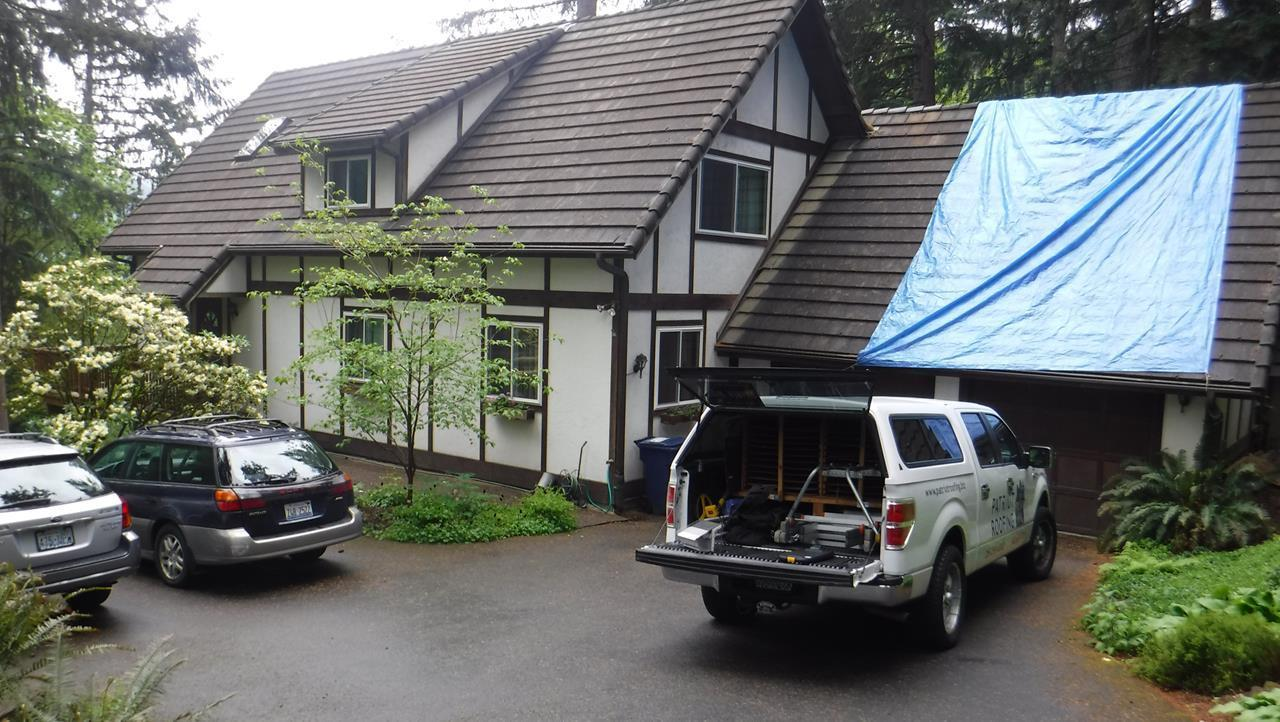 MasterShield Gutter Guard Installation in Issaquah, WA - Before Photo