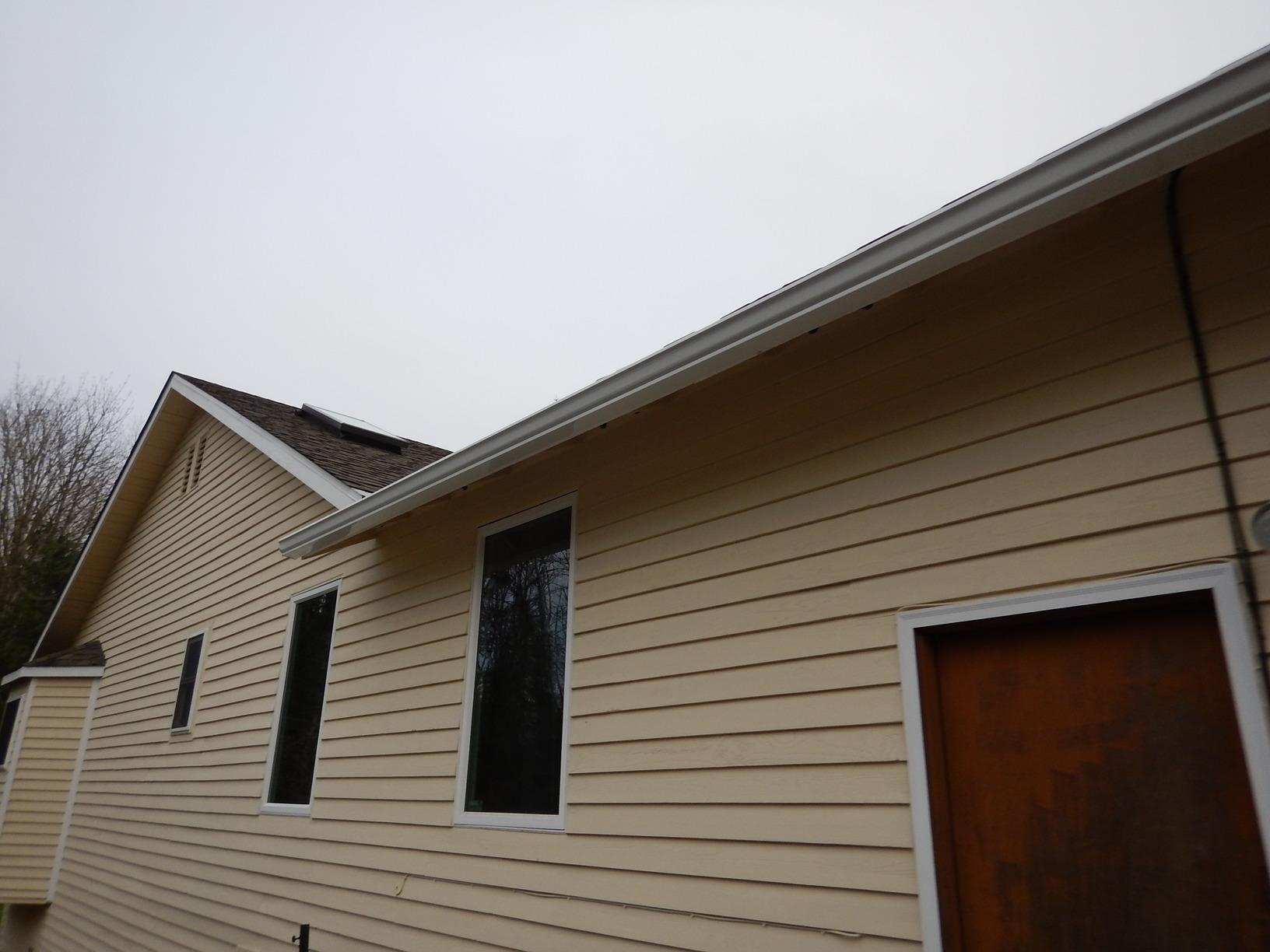 Home Installed Gutter Guards Replaced with Professional System in Maple Valley, WA. - After Photo