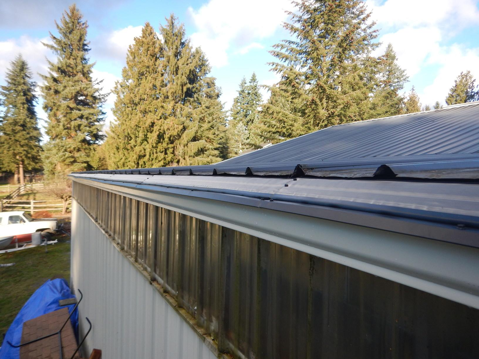 Bad Gutter Protection System Replaced With MasterShield Gutter Guards in the Graham, WA - After Photo
