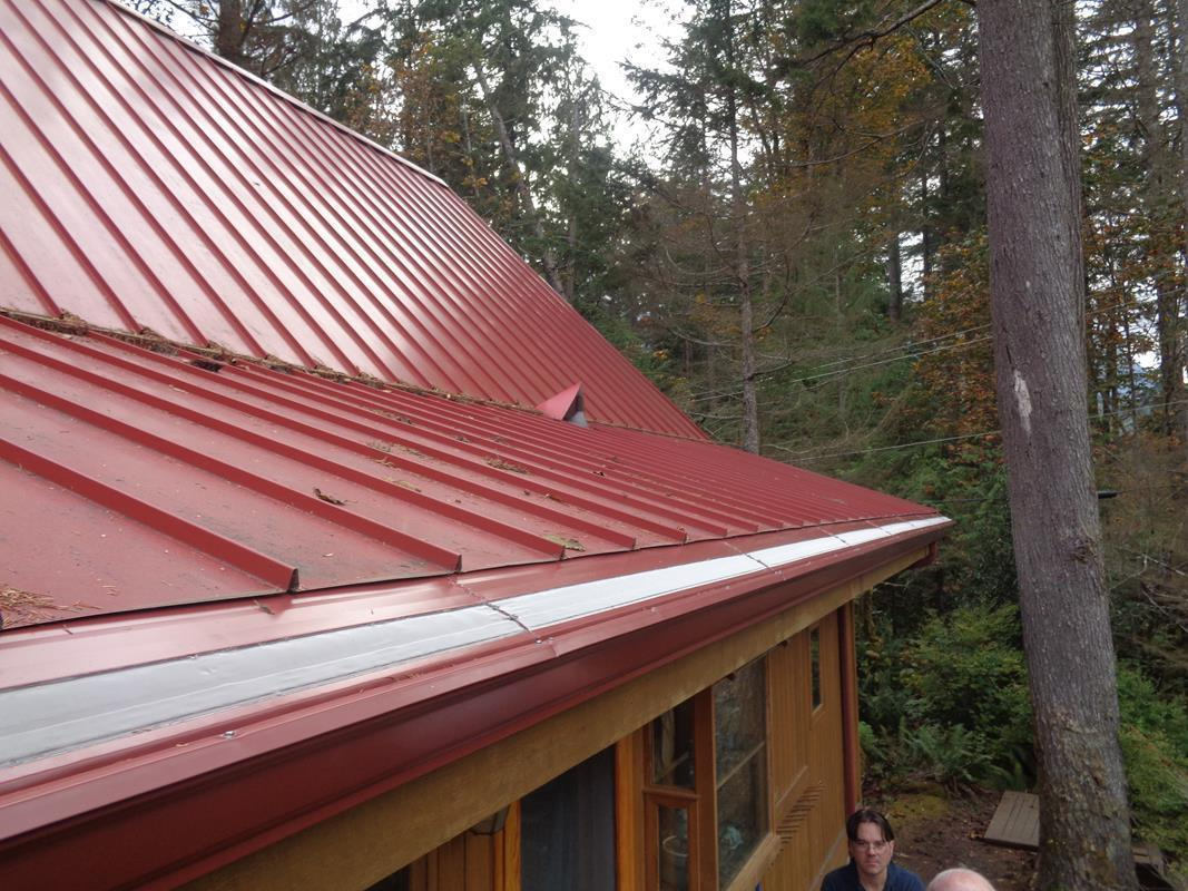 Gutter Protection System Installed on Metal Roof in Monroe, WA - After Photo
