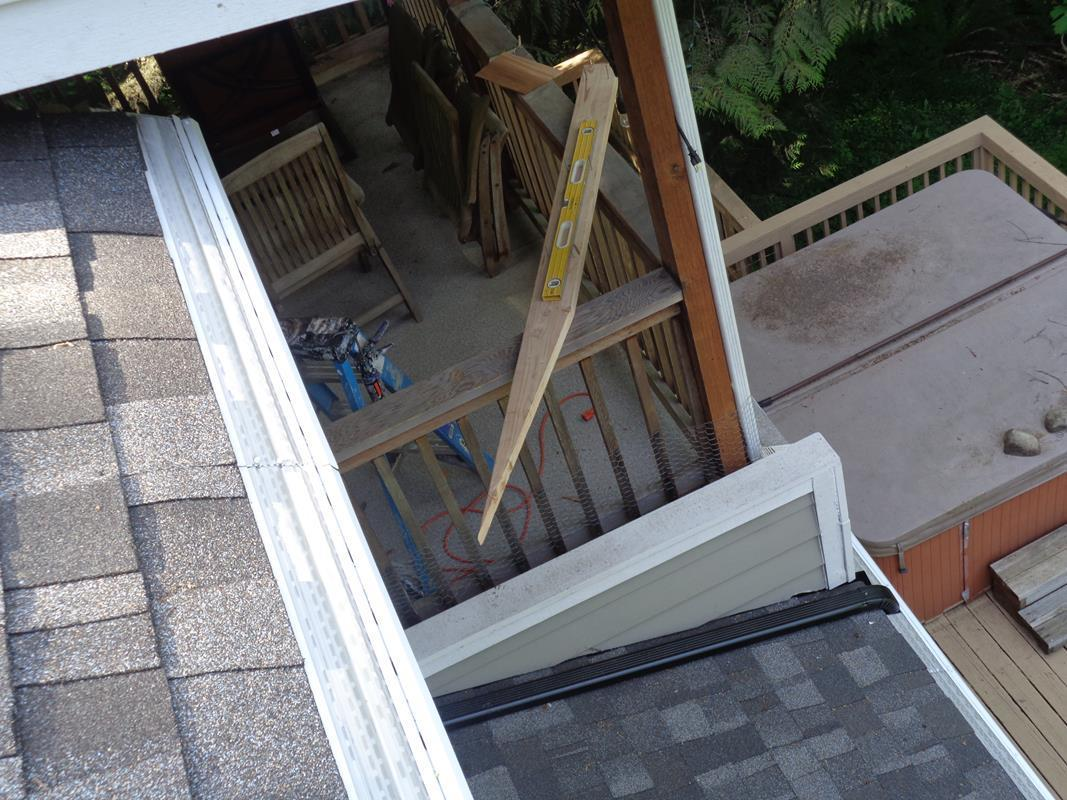 Downspouts Installed in the Snoqualmie, WA - After Photo