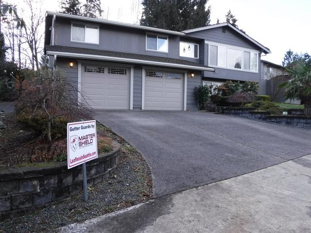 Gutter Guard and New Fascia Installed in Renton, WA