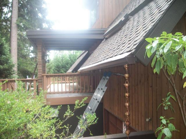 Bainbridge Island Roof Replacement and Gutter Installation