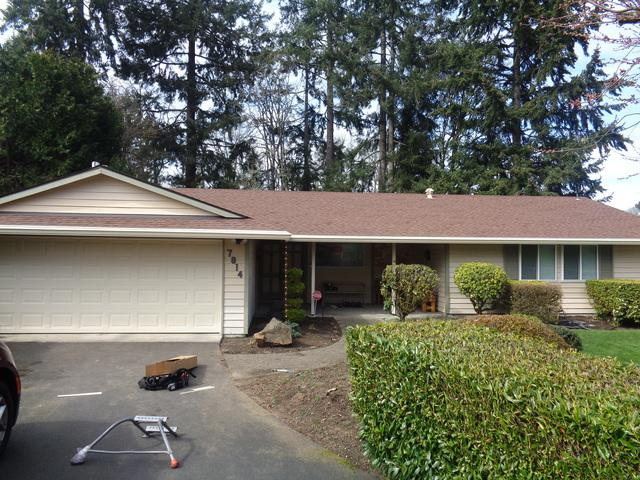 MasterShield Leafless Gutters Installed in Lakewood, WA