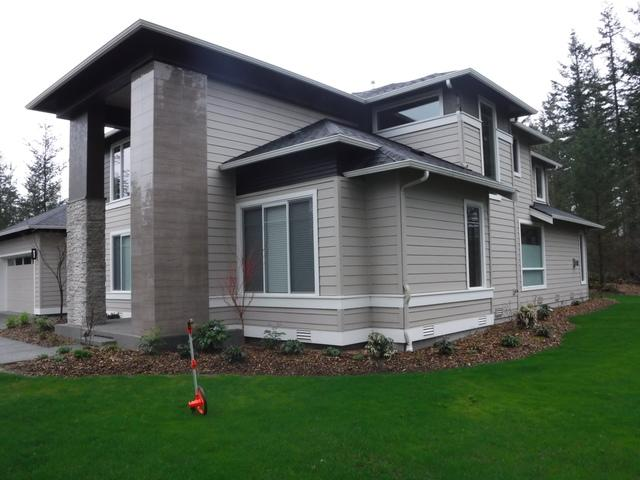 Leafless Gutters Installed in Ravensdale, WA - Before Photo