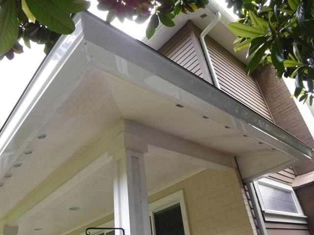 Leaky Gutters Replaced in Seattle, WA - After Photo