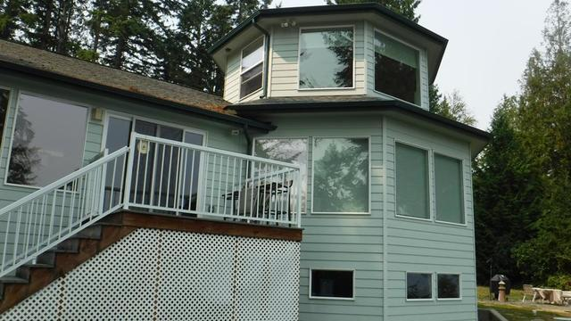 Oak Harbor, WA  Home Has Gutter Guards Installed on Roof