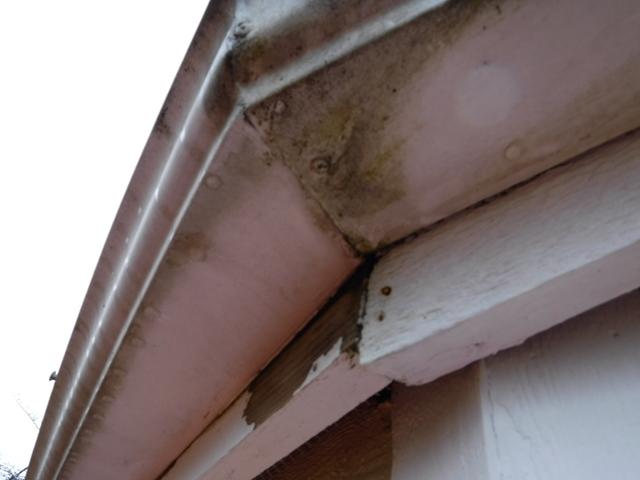 Home Installed Gutter Guards Replaced with Professional System in Maple Valley, WA. - Before Photo