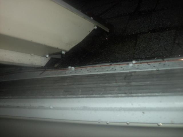 Leaf Filter Gutter Failure Replaced in Mount Vernon