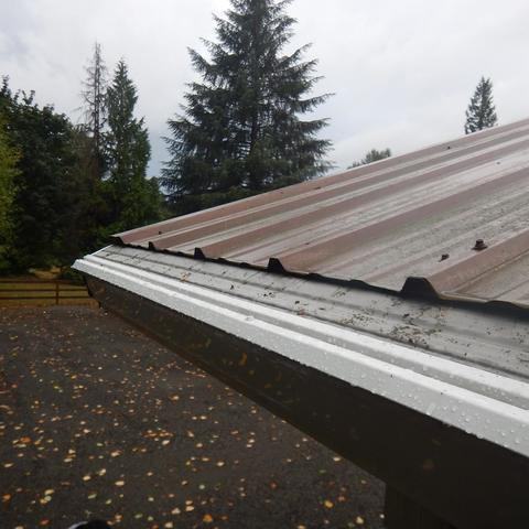 Damaged Gutter System Repaired in Ferndale, WA