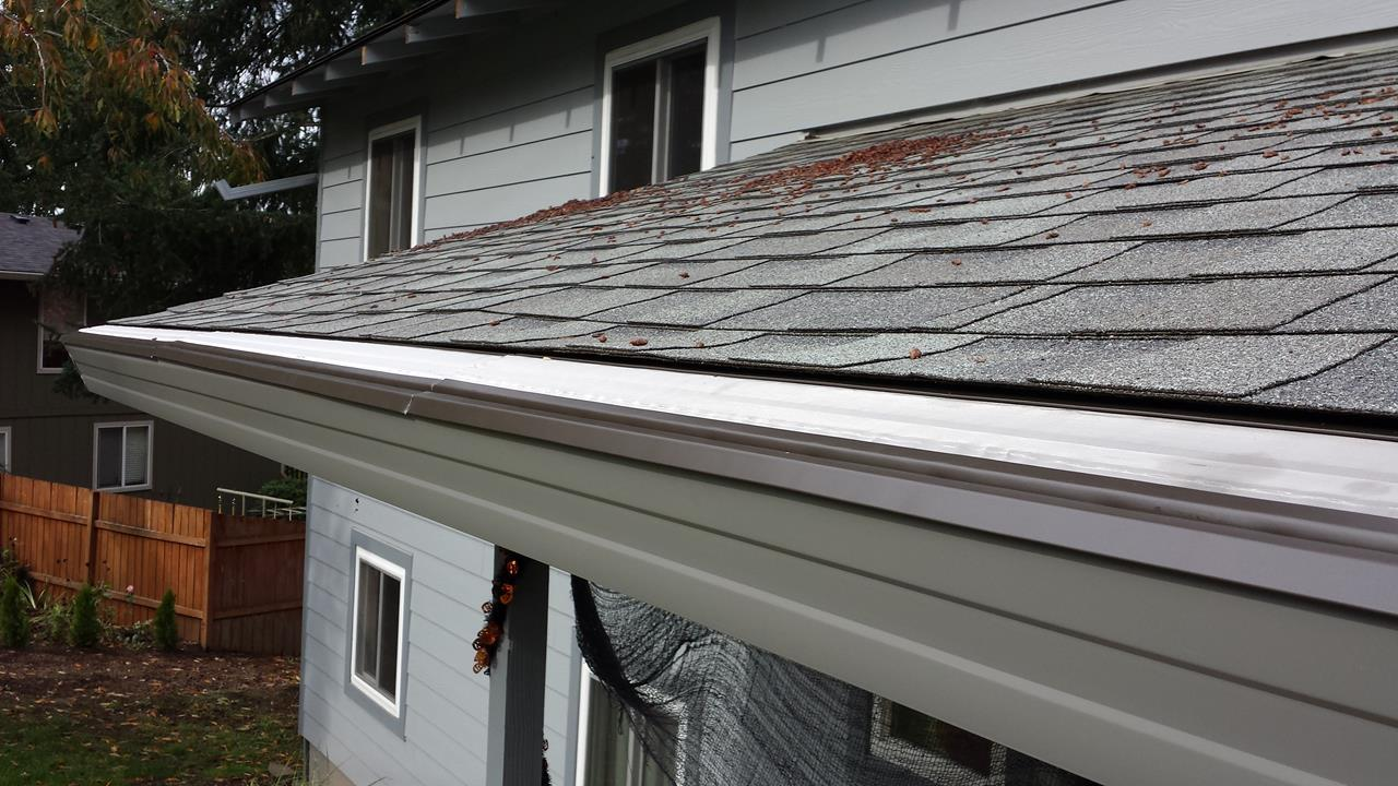 Pine Guard Gutter Protection in Sherwood - After Photo