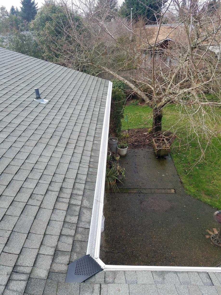 Gutter Replacement in Salem, OR - After Photo