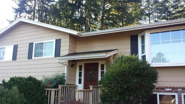 Gutter Guard Installation in Beaverton - Before Photo