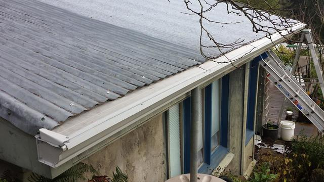 Gutter Guard for Metal Roof in Oregon City - After Photo