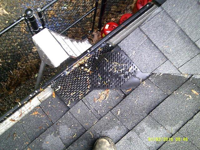 MasterShield system already working before installation is even complete in Beaverton, OR! - After Photo