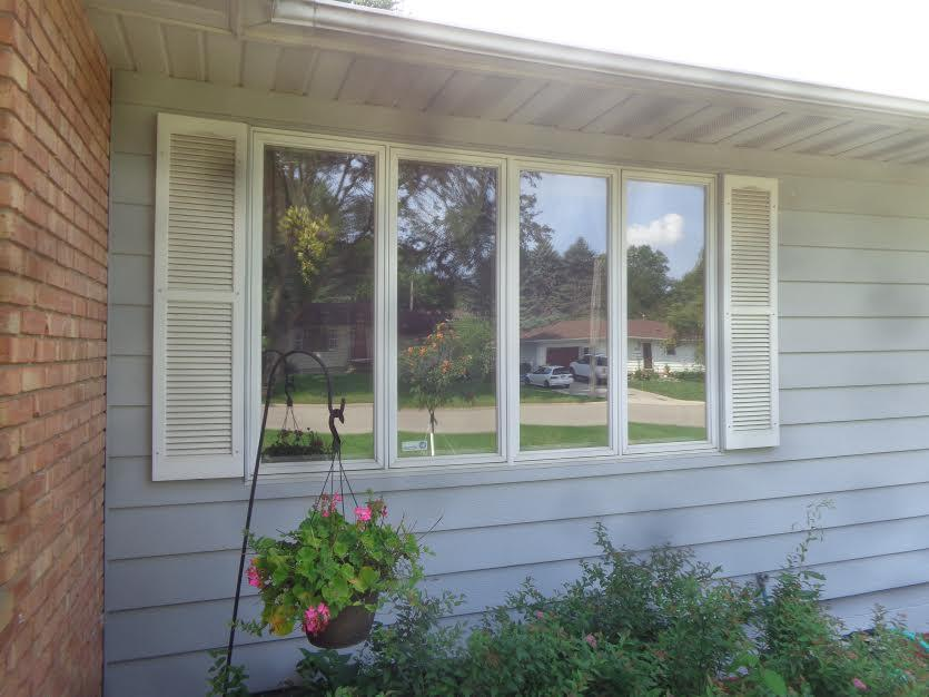 Window Replacement in Faribault, MN - Before Photo