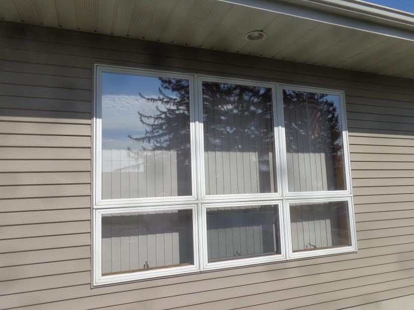 Residential Window Replacement - Before Photo