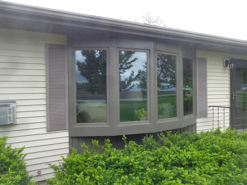 Bay Window Replacement in Clear Lake, IA - After Photo