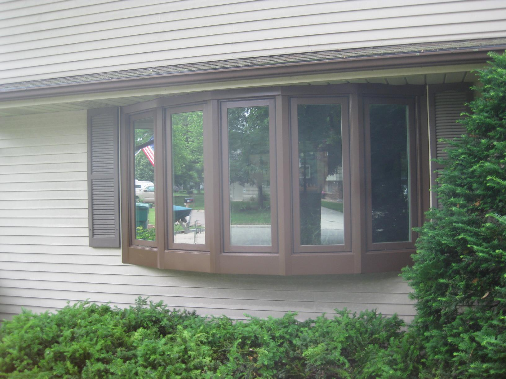 Bow Window Replacement in Albert Lea, MN - After Photo
