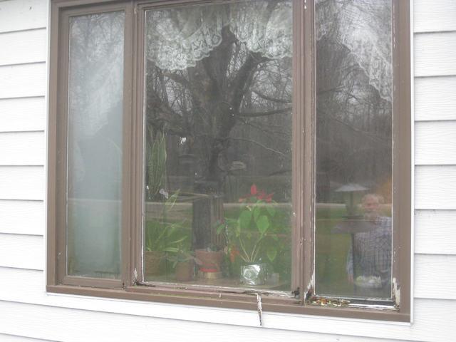 Beautiful new Casement window installed - Before Photo