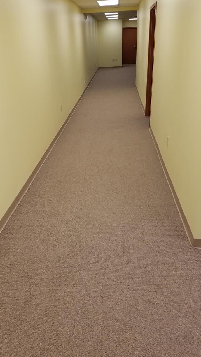 Water Damage in Pittsburgh, PA Commercial Building Hallway - After Photo