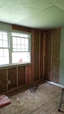 Water Damage in New Kensington, PA Bedroom - Before Photo