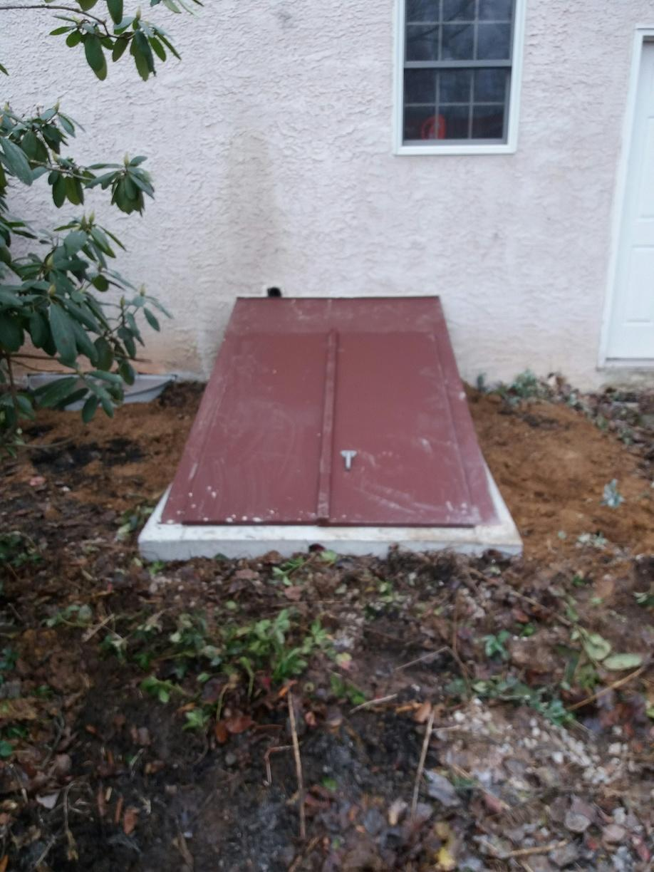 Full Egress unit Installed in Spring City - After Photo