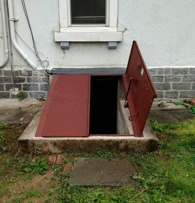 Cellar Door Replacement - After Photo
