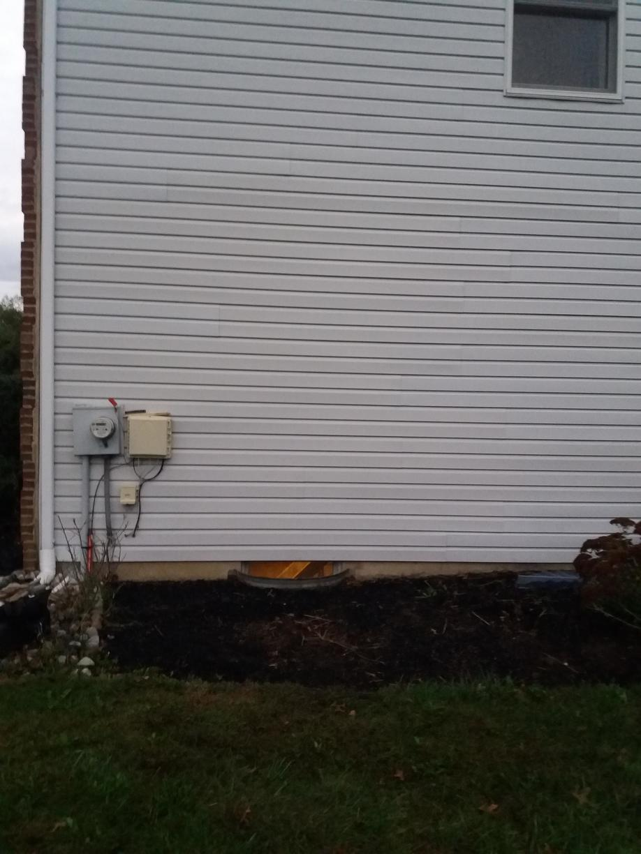 Installation of Egress Stair Unit in Ambler, PA - Before Photo
