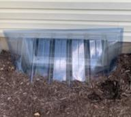 Window Well and cover combo unit installed in Downingtown, PA - Before Photo