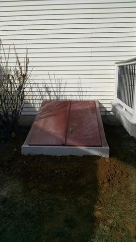 Precast concrete stairway in Berwyn, PA - After Photo