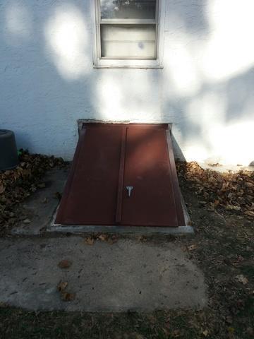 Custom Cellar Door Installed in Norristown Pa.