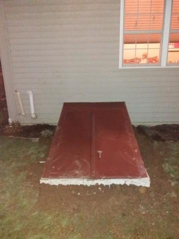 Large egress stairway installed in Reading Pa.