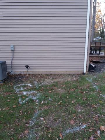 Cellar door egress Installed in Downingtown, PA - Before Photo