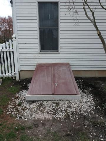 84'' precast entryway in Doylestown, PA - After Photo