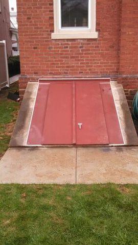 Steel Cellar Door Replacement