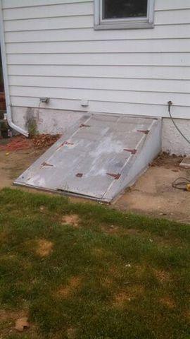 Replacement Steel Door