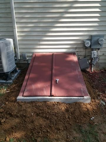 Basement Egress installed in Downingtown, PA - After Photo