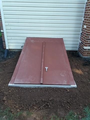 Basement Egress with galvanized top in Collegeville, PA - After Photo