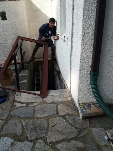 Custom Jumbo Door installed in Baltimore, MD! - Before Photo