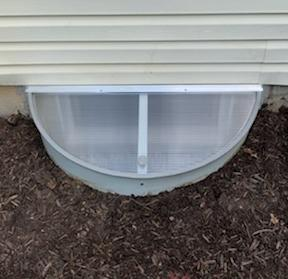 Window Well and cover combo unit installed in Downingtown, PA