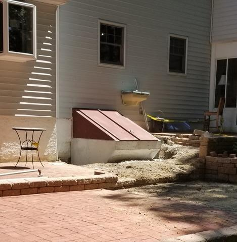 Steel unit replaced with Concrete in Perkiomenville, PA - After Photo