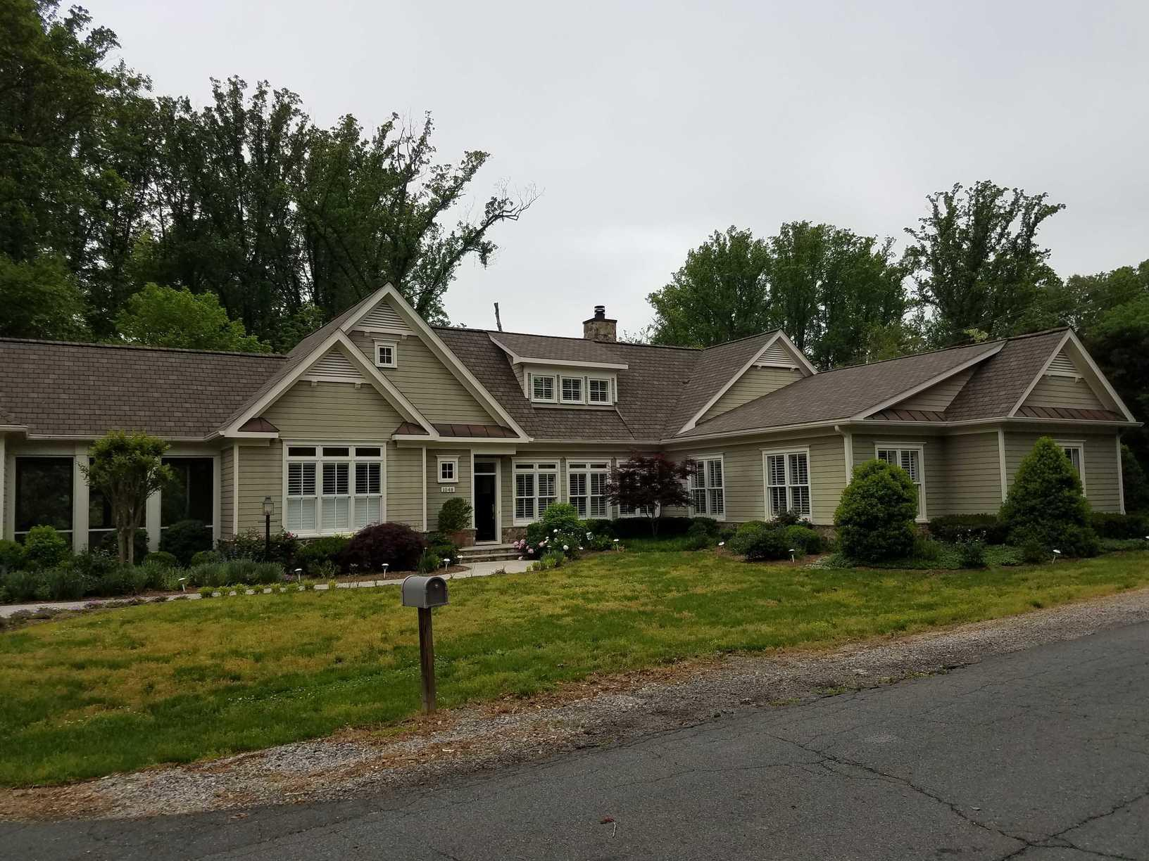 MasterShield Gutter Protection in McLean, VA.  - Before Photo