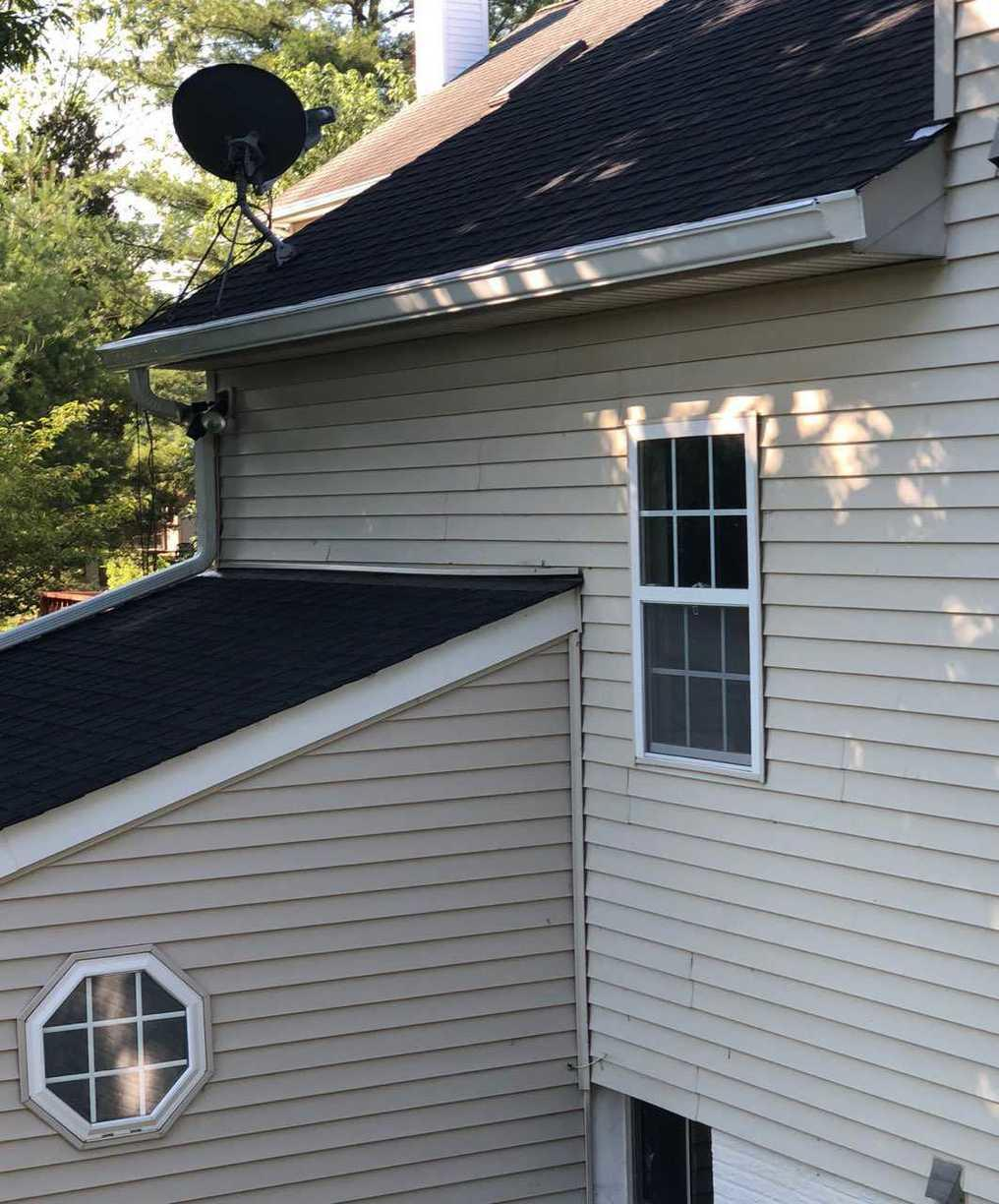 MasterShield Gutter System for home in Ashburn, VA.  - After Photo
