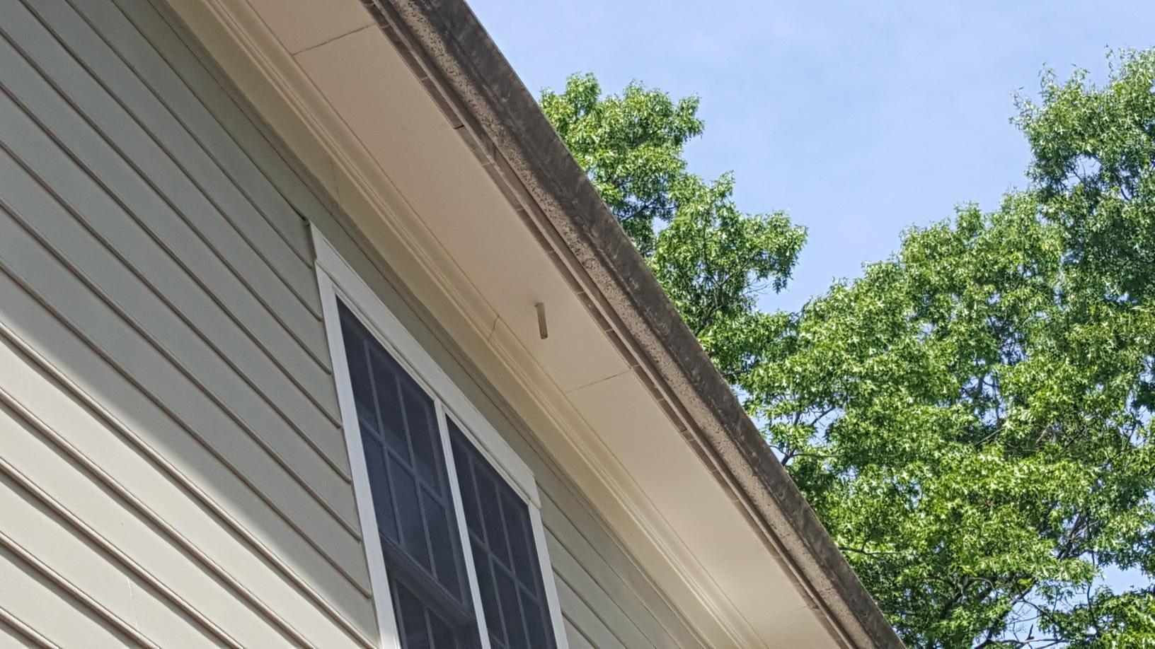 Gutter Repair & Gutter Guard Installation in Clifton, VA - Before Photo