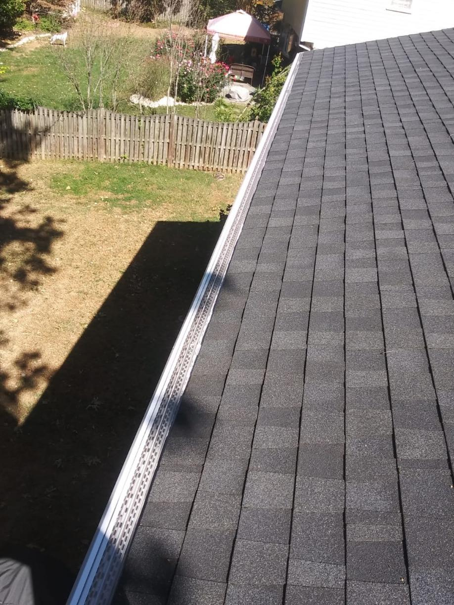 Baement leaking-Need new gutter system in Chevy Chase, MD - After Photo